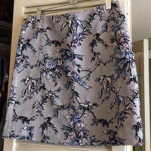 Ann Taylor Loft skirt printed skirt